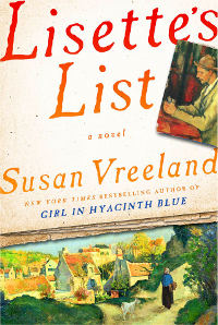 Book Cover Lisettes List by Susan Vreeland