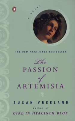 Cover Picture for Susan Vreeland's The Passion of Artemisia