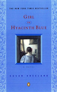 Paperback Cover for Girl in Hyacinth Blue