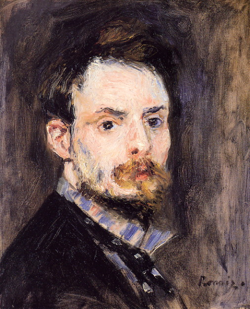 Self Portrait, Renoir