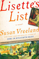 Book Cover for: Lisettes List, Susan Vreeland novel