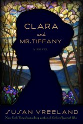 Paperback Cover Clara and Mr. Tiffany