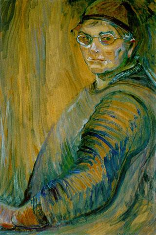EMILY CARR (pintura) Zwo-SelfPortrait-100