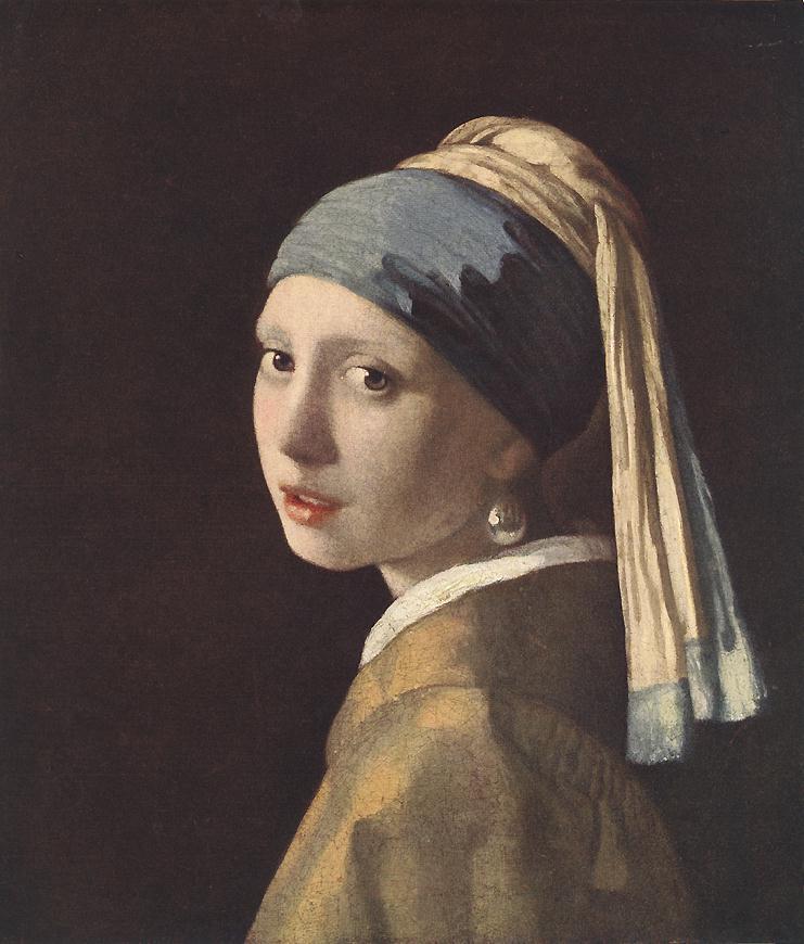 vermeer girl in hyacinth blue